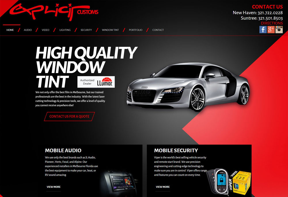 Security Window Film >> Window Tint | Car Stereo | Alarm | Radar in Melbourne FLExplicit Customs