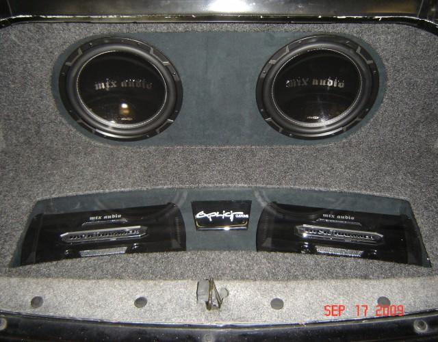2005 Chevy Impala MTX Audio Build Explicit Customs Melbourne Suntree Viera Florida Car Audio Tint Security