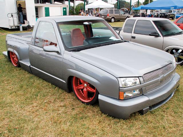 1991 Chevy Silverado Truck Custom Fabrication paint stereo air bags susbspension Explicit Customs Melbourne Suntree Viera Florida