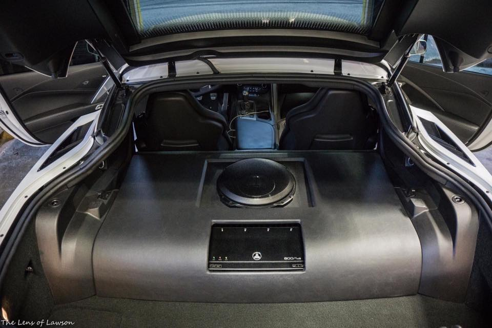 C7 Corvette Subwoofer Installation In Melbourne Jl Audio