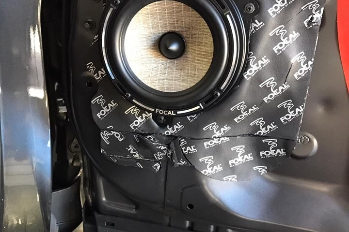 Explicit Customs Melbourne Car stereo upgrade using JL Audio amps, Focal speaker, JL Audio processor.