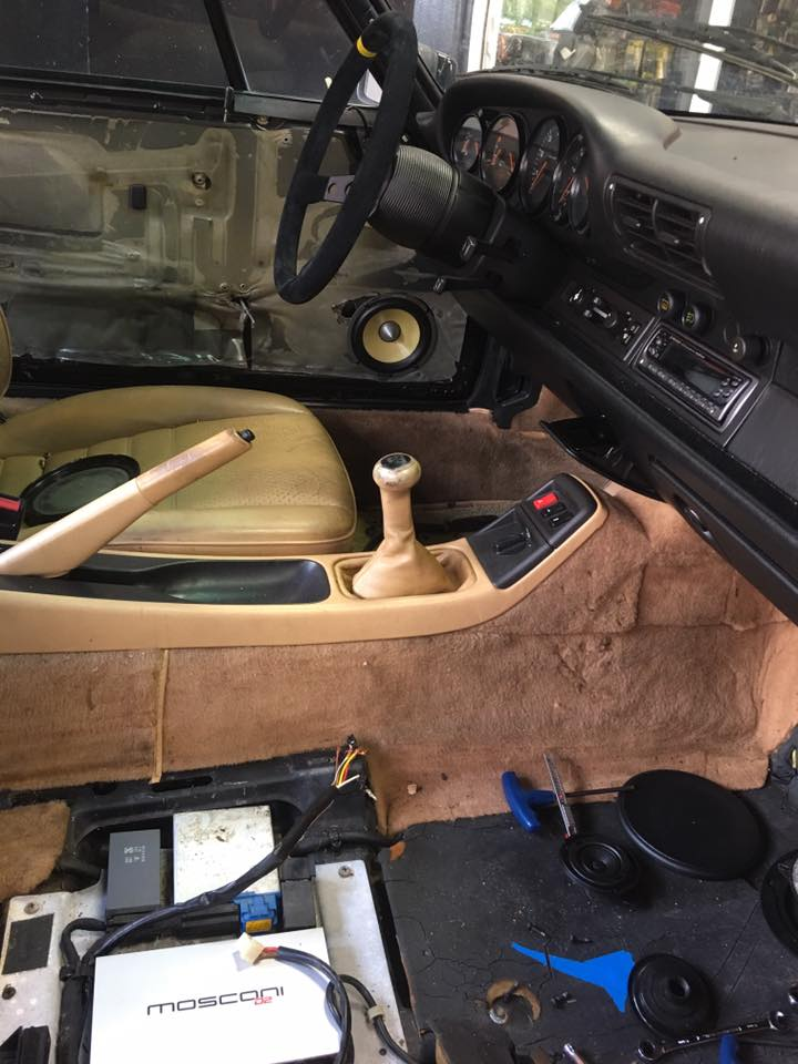 1990 Porsche Focal K2 Power Kevlar Speaker Install With