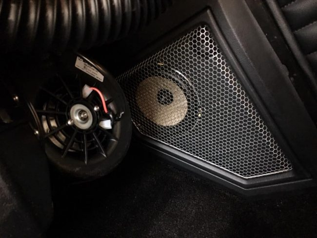1958 Chevy Bel Air car stereo installation in Melbourne by Explicit Customs using Focal and JL Audio