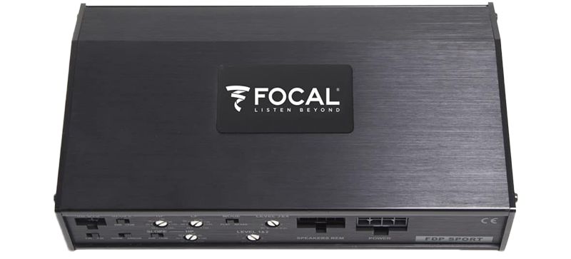 Focal FDP Sport mortorcycle and powersports stereo amplifier sales and installation in Melbourne at Explicit Customs