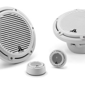 JL Audio marine m series component speakers in Melbourne by Explicit Customs white