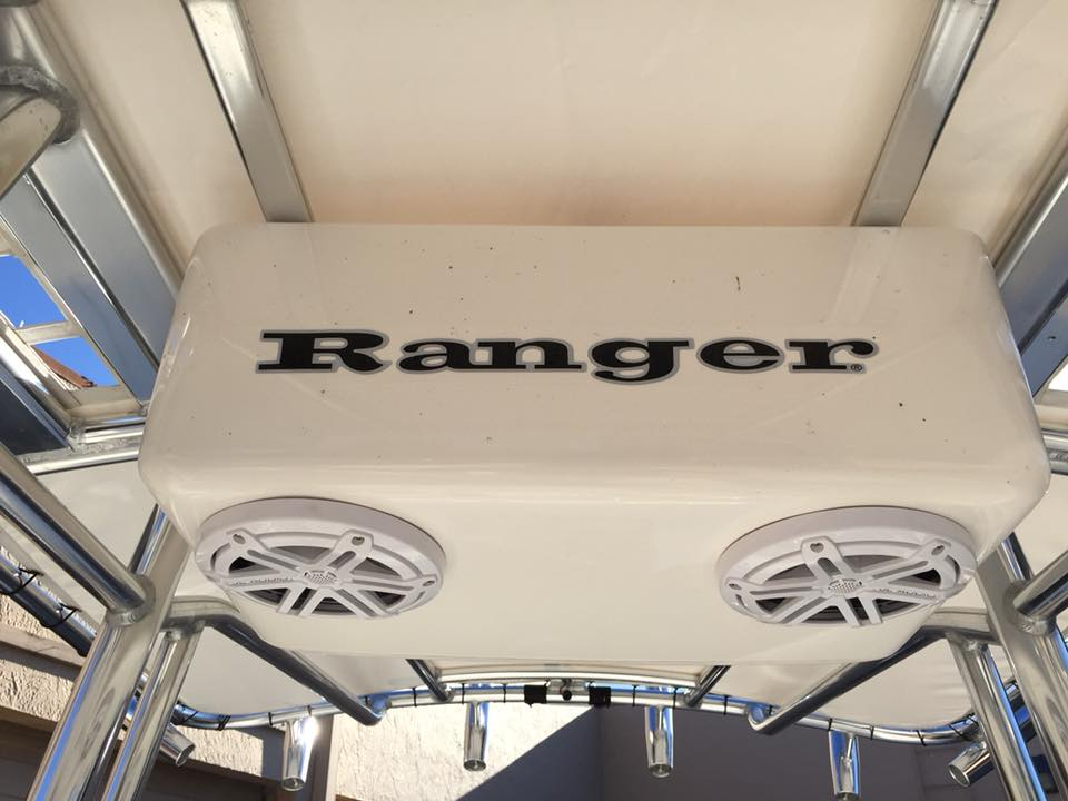 Ranger Bahai boat marine stereo install in Melbourne by Explicit Customs JL Audio