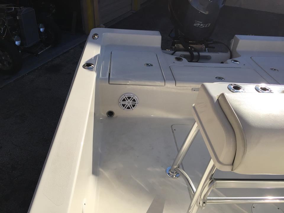 Ranger Bahai 24 Bay Boat Marine Stereo Installation With