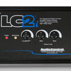 Audiocontrol LC2i factory car stereo integration installation in Melbourne by Explicit Customs