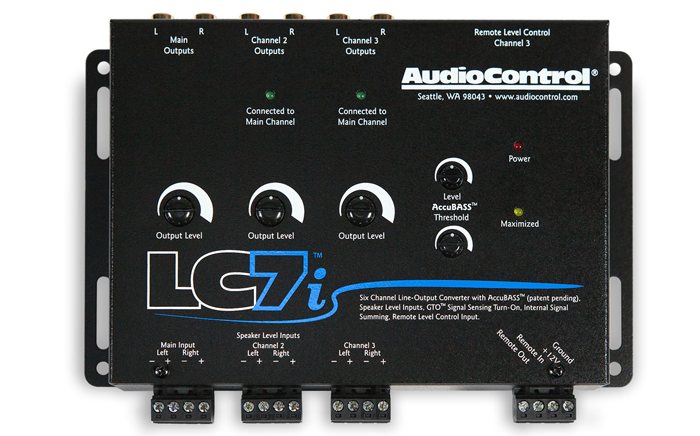 Audiocontrol Lc7i 6 Channel Line Output Converter With