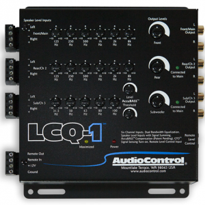 Audiocontrol LCQ1 factor car stereo integration installation in Melbourne by Explicit Customs