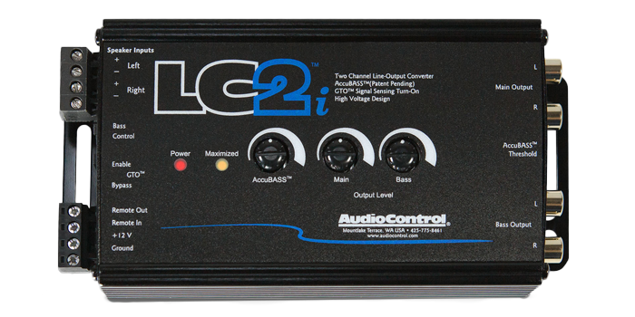 Audiocontrol LC2i factory upgrade systems installed in Melbourne by Explicit Customs