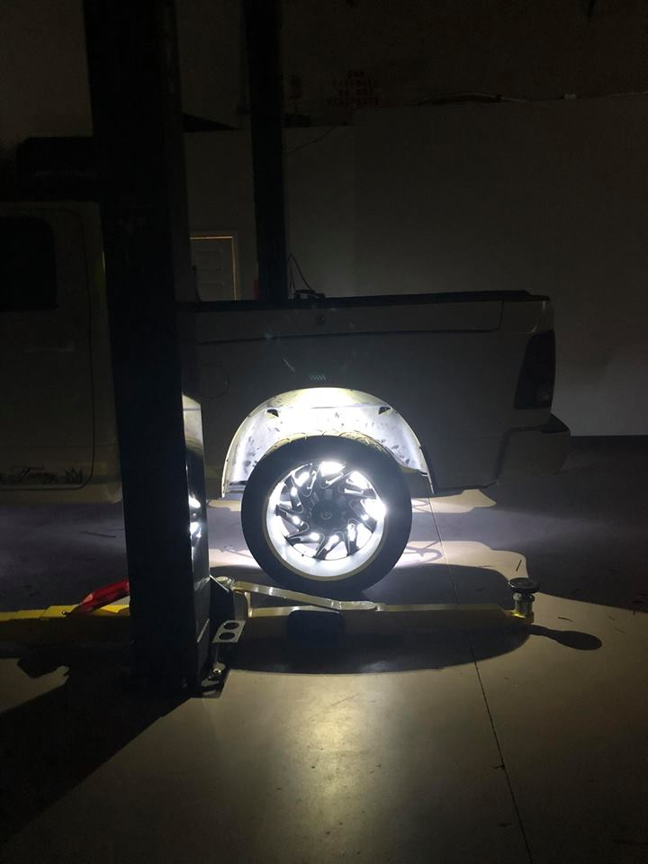 Dodge Ram 1500 Oracle LED Wheel Ring Lights, Wheel Well