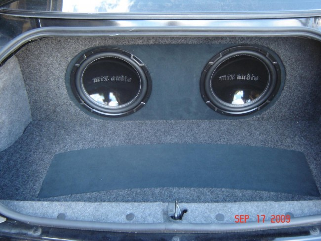 2005 Impala MTX Audio Project Explicit Customs Melbourne Car Stereo