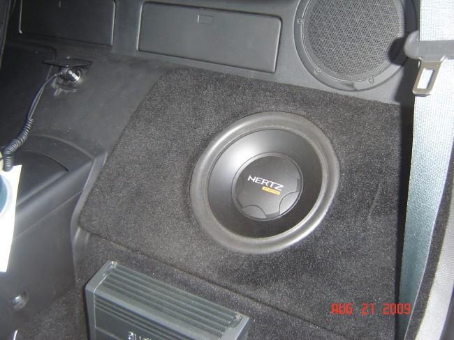 Nissan 350Z Custom Stereo Audison Hertz Explicit Customs Melbourne Suntree Viera