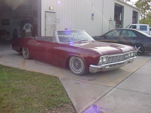 1966 Chevy Impala Custom Restoration Body Work Suspension Brakes Explicit Customs Melbourne Suntree Viera Florida