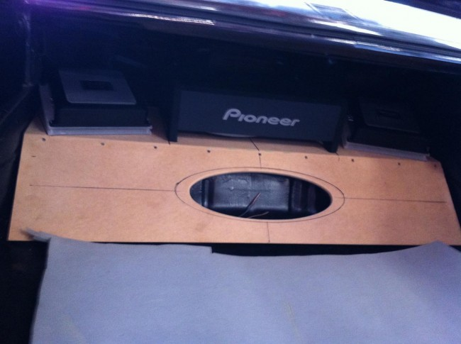 Chevy Chevelle SS custom car stereo with Pioneer speakers and headunit. Explicit Customs Melbourne Suntree Viera Florida