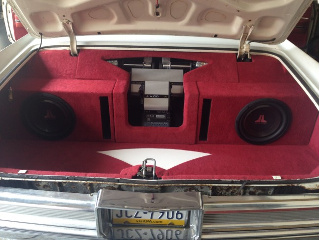 1964 Cadillac custom stereo JL Audio Explicit Customs Melbourne Suntree Viera Florida
