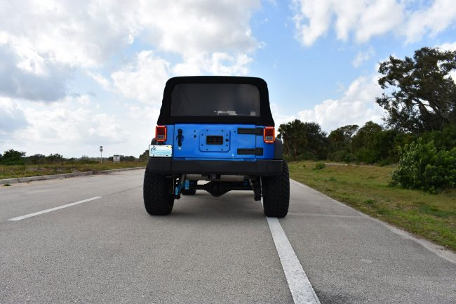2015 Jeep Wrangler with 3.5