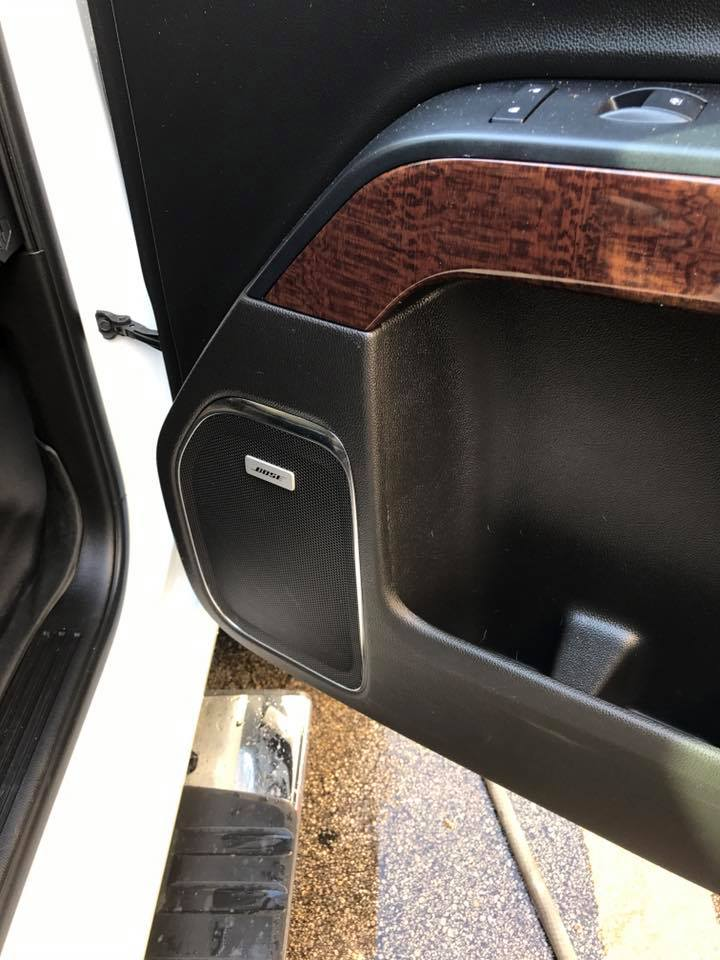 gmc sierra  focal  speakers focal amplifers jl audio subwoofers explicit customs
