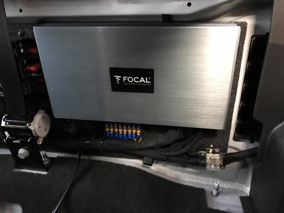 2015 GMC Sierra 2500 Focal K2 Speakers Focal Amplifers JL ...