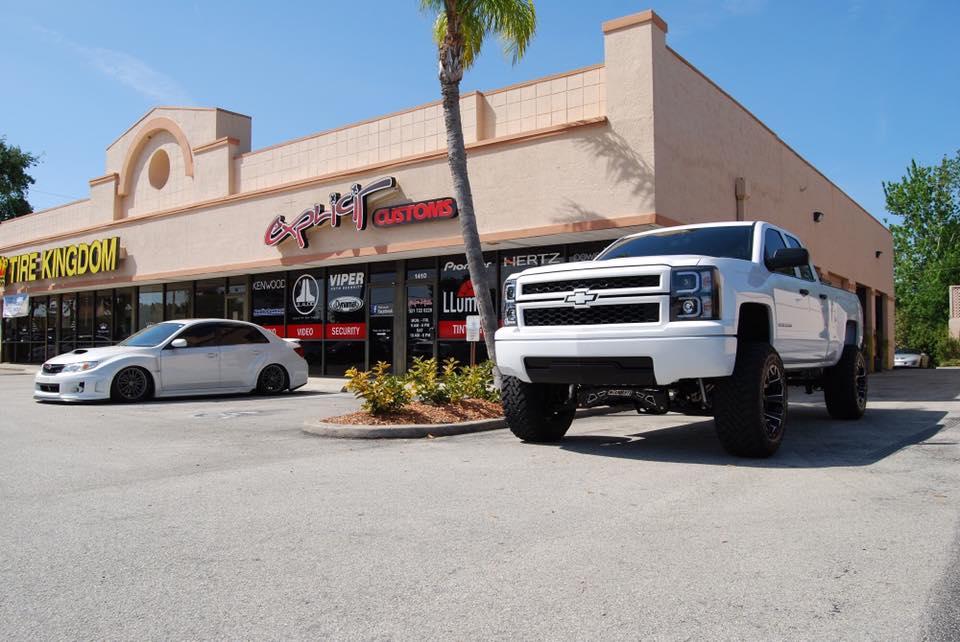 2015 Chevy Silverado With Mcgaughys Suspension Lift Kit Installation