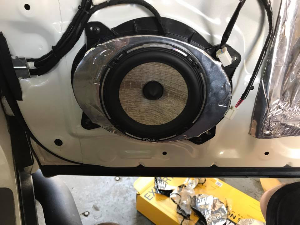 2008 Toyota 4Runner car stereo installation in Melbourne by Explicit Customs Focal, JL Audio, Pioneer