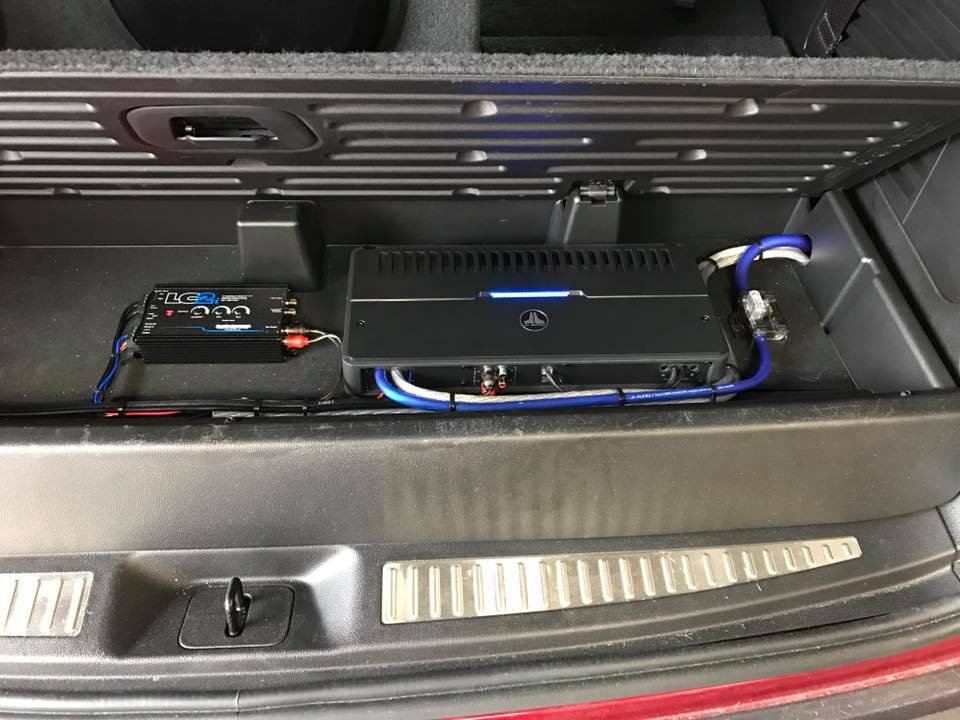 Chevy Tahoe Subwoofer Box Installation with JL Audio ...
