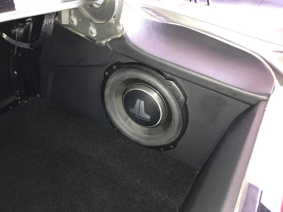 Classic Ford Mustang Car Stereo Installation Custom Center