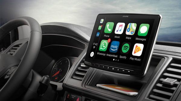 "Alpine Halo9 9"" Touchscreen car stereo headunit available in Melbourne at Explicit Customs"
