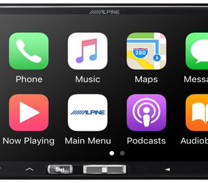 Alpine car stereo headunit sales and installation in Melbourne Explicit Customs