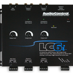 Audiocontrol LC6i factor car stereo integration installation in Melbourne by Explicit Customs