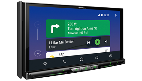 Pioneer 8400 car stereo headunit sales and installation in Melbourne by Explicit Customs