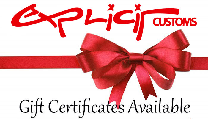 Gift certificates available for car stereo and window tint in Melbourne FL